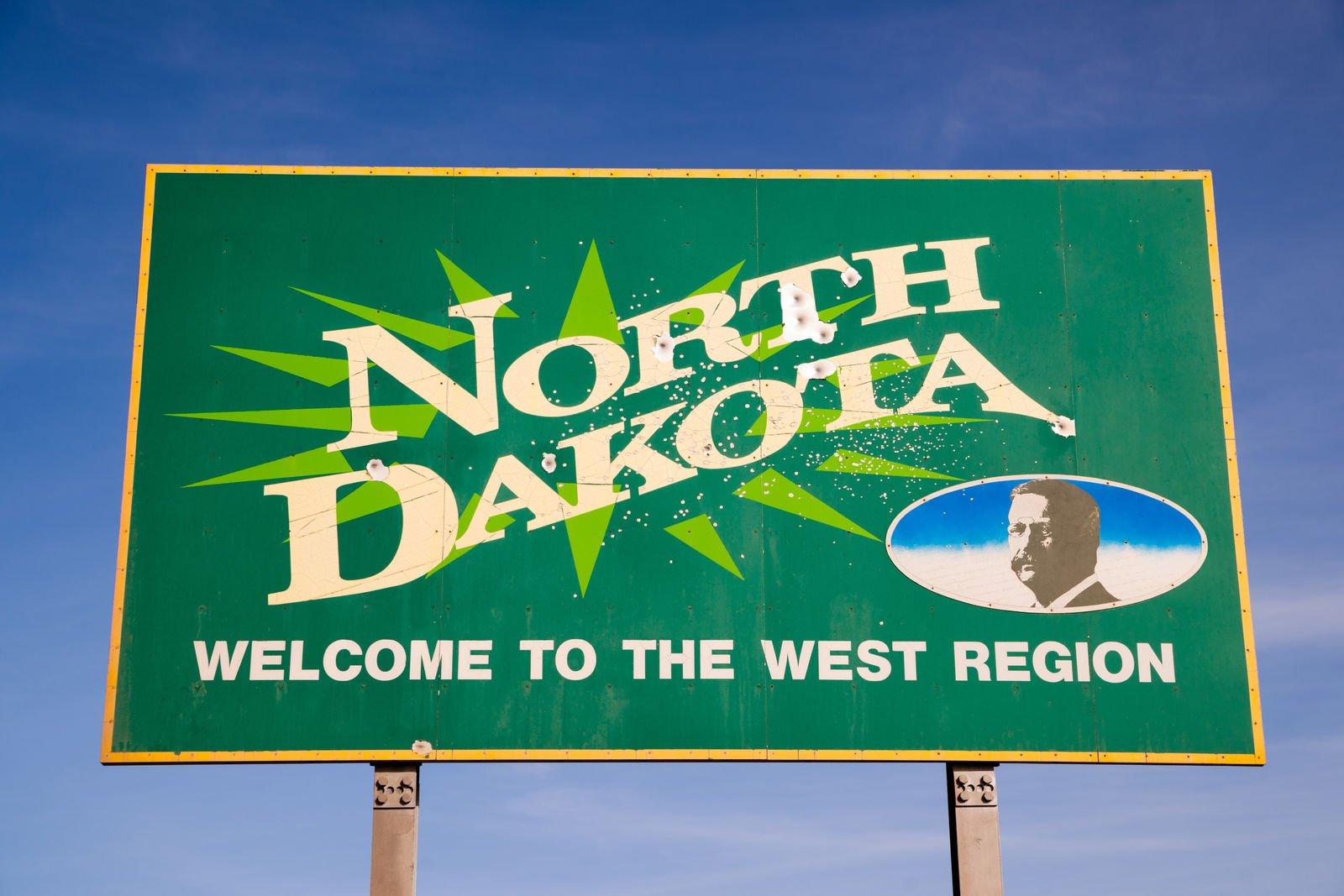 north dakota sign