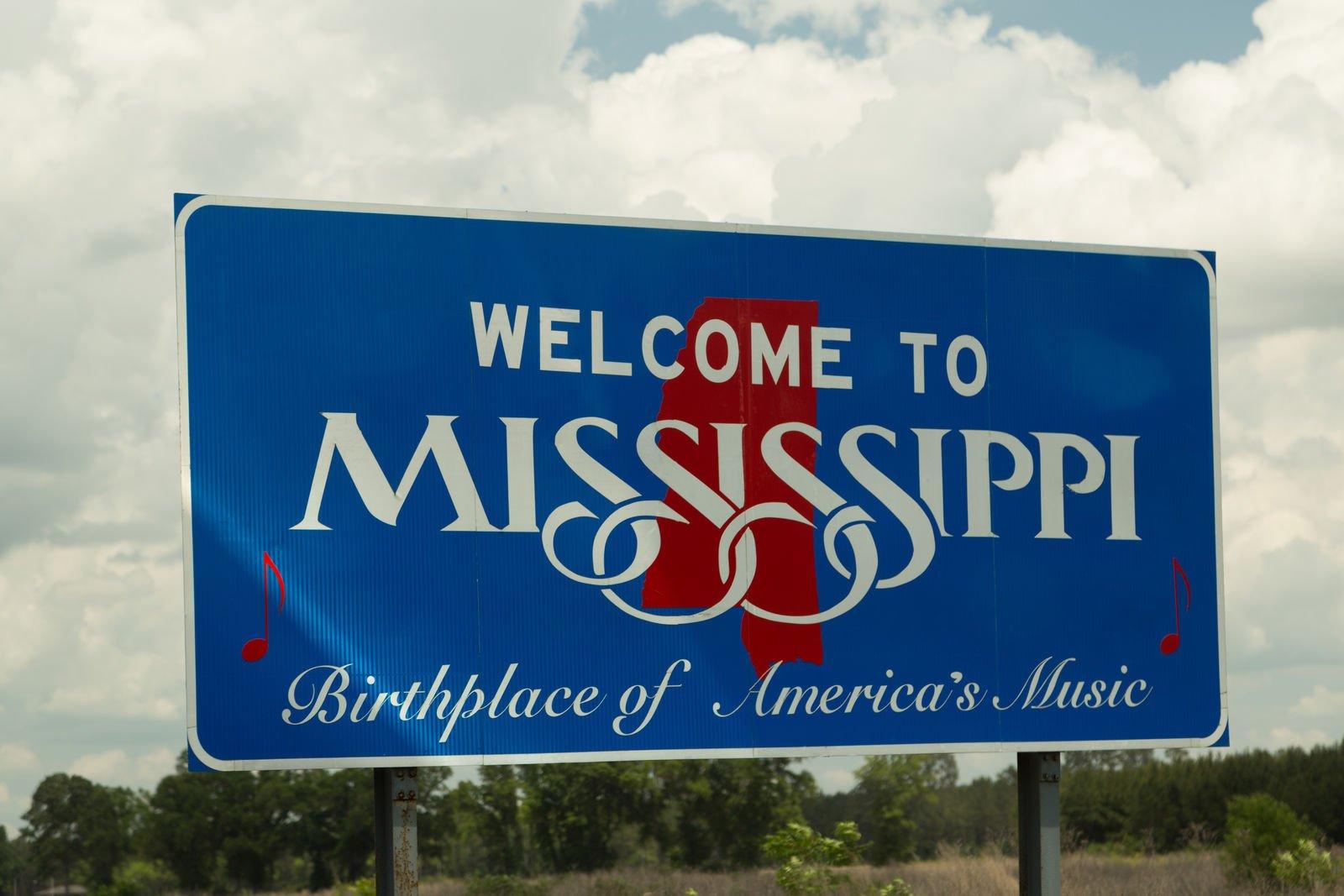 mississippi sign