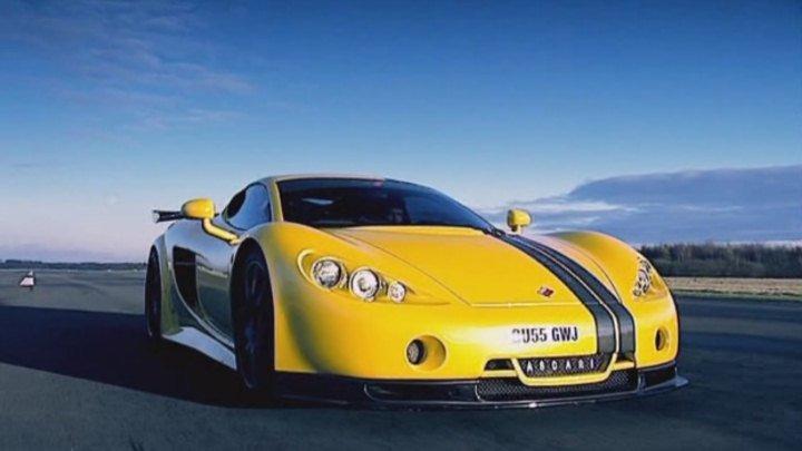 fastest car in the world - ascari a10