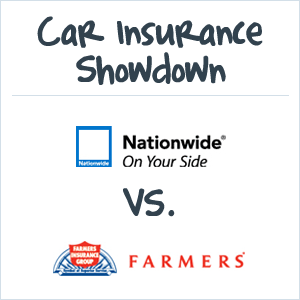 Farmers Vs Nationwide Car Insurance