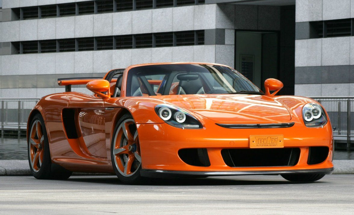 Porsche carrera gt superfast sports car