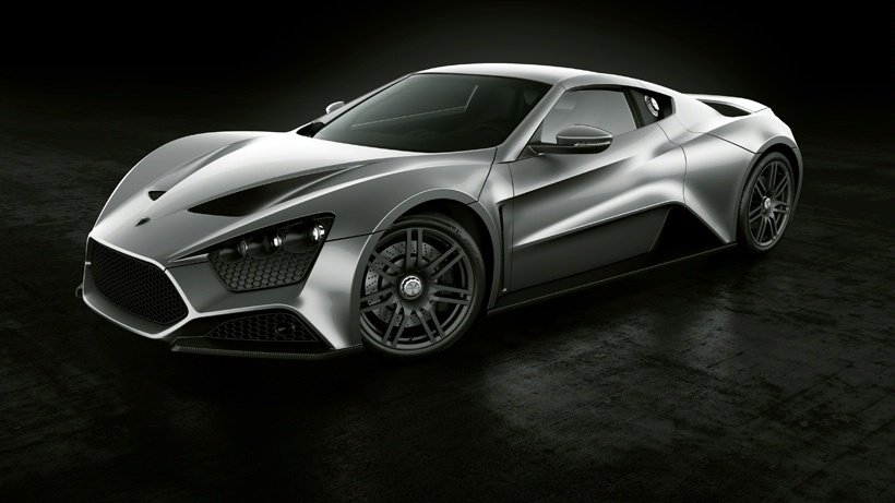 fastest car in the world - zenvo ST1