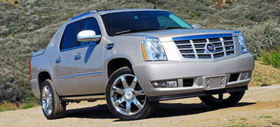Cadillac Escalade EXT Crash Ratings